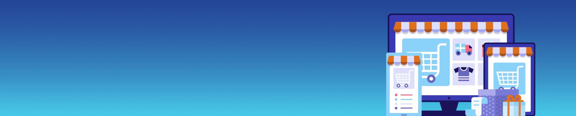 Banner Loja – Desktop