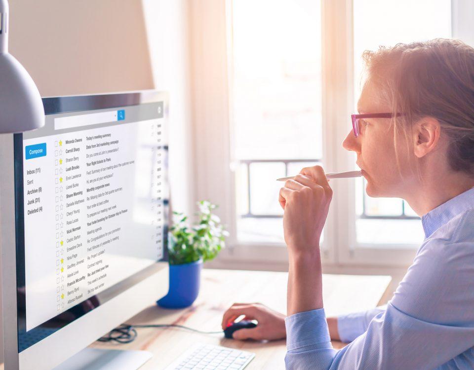 Como escolher um provedor de e-mail profissional