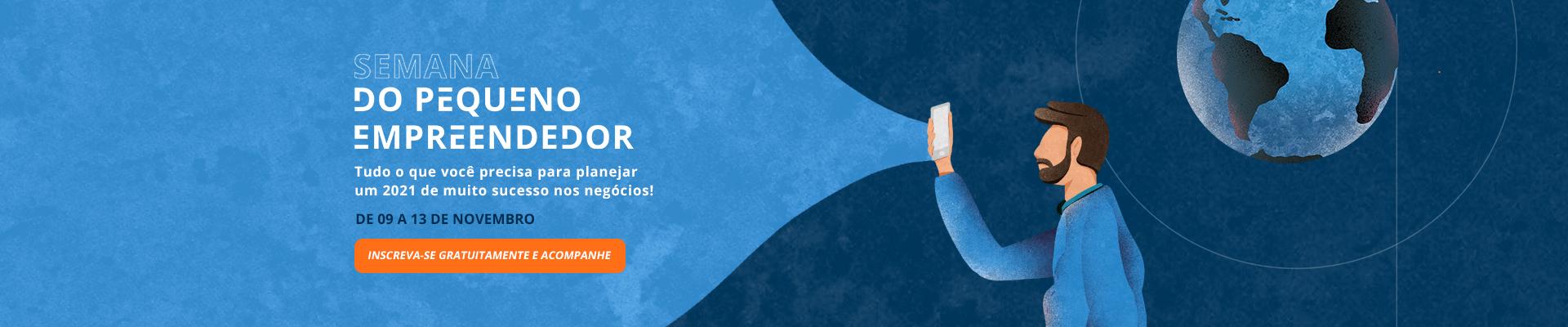 Semana do Pequeno Empreendedor – Lançamento – Desktop